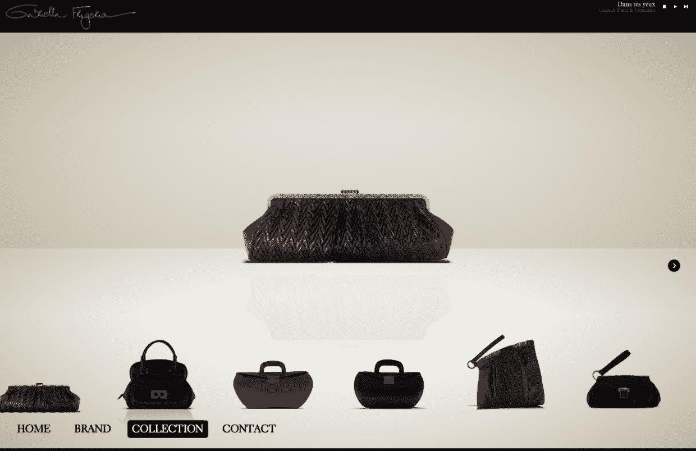creazioen sito marchio moda