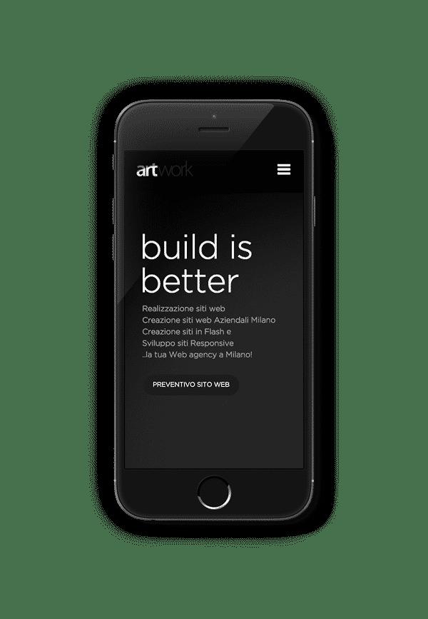 creazione sito mobile