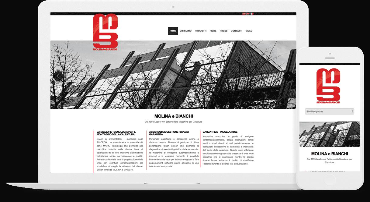creazione sito aziendale calzature
