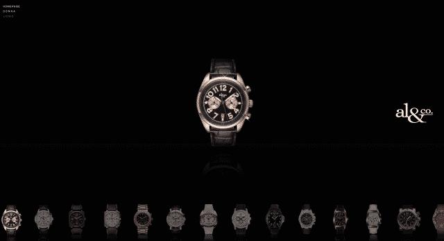 creazione sito aziendale orologi