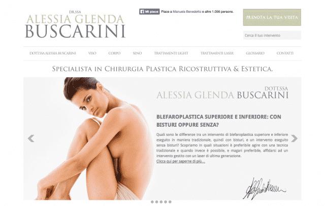 creazione sito chirurgia plastica chirurgo