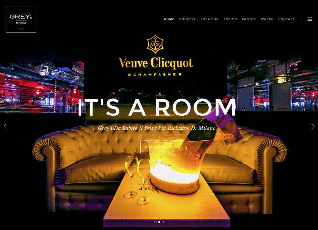 creazione sito discoteca