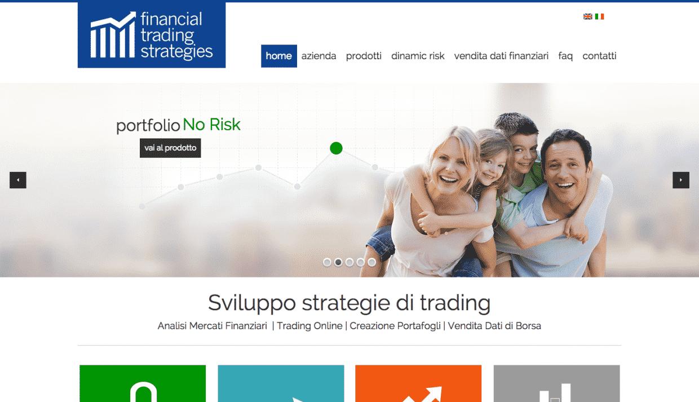 creazione sito finanziario
