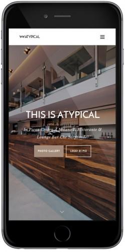 web agency sito mobile per ristorante