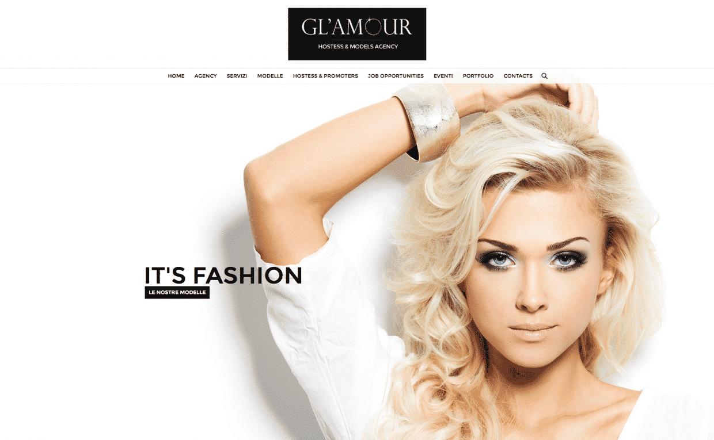 creazione sito per agenzia di hostess o modelle