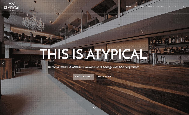 creazione siti per ristoranti