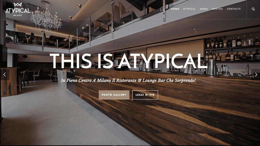 creazione sito per ristorante
