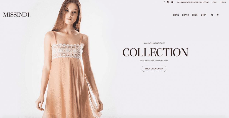 preventivo sito ecommerce store abbigliamento