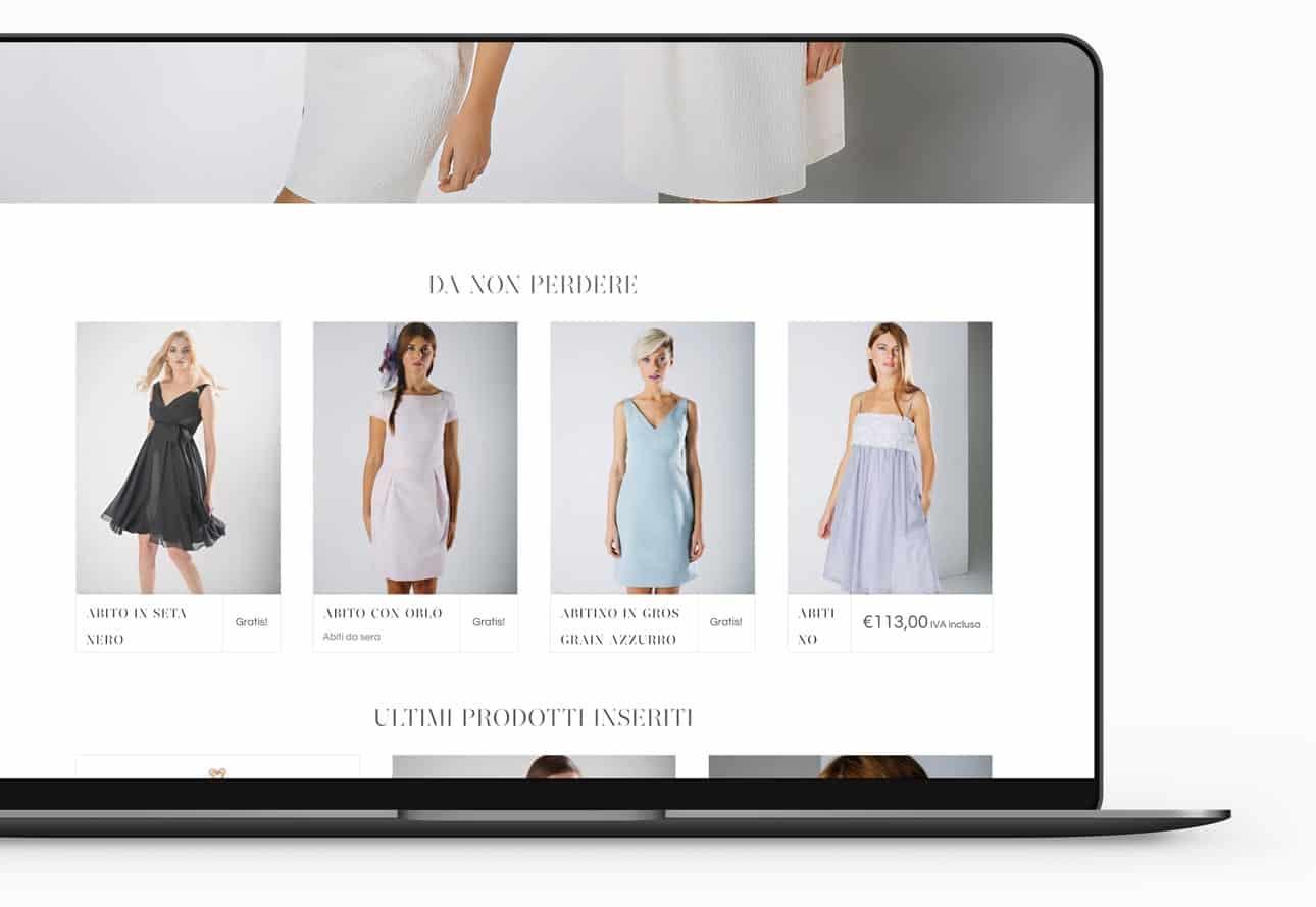 realizzazione sito e commerce abbigliamento