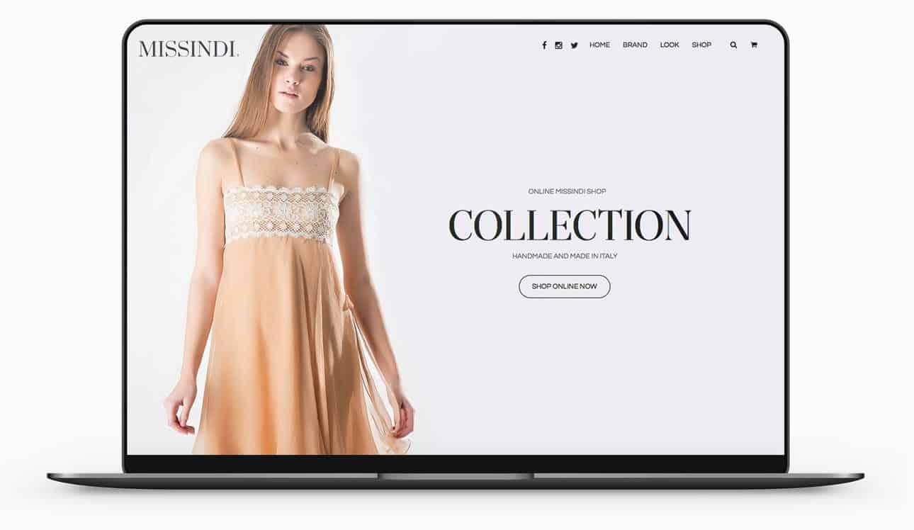 sito e-commerce abbigliamento