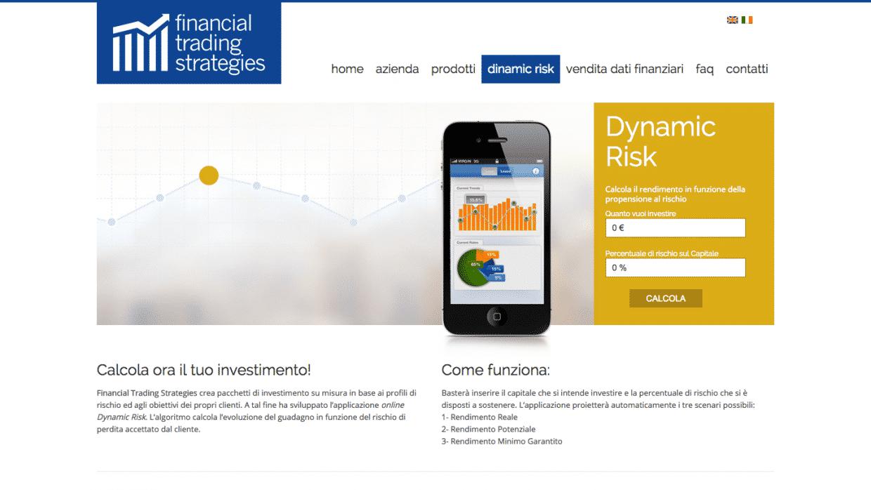 sviluppo sito azienda finanziaria