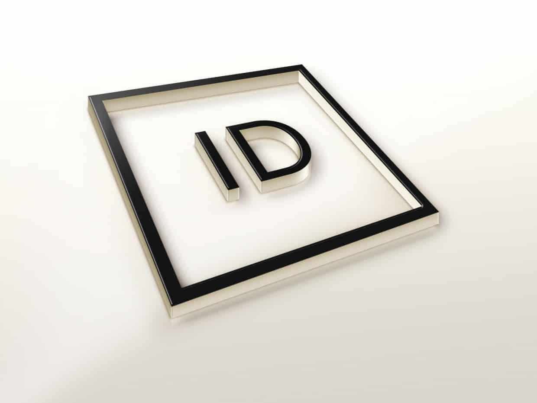 creazione logo azienda grafica 3d minimale