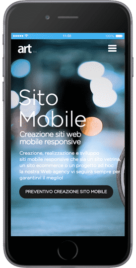 sito web per iphone