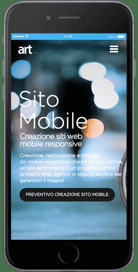 sito web per iphone