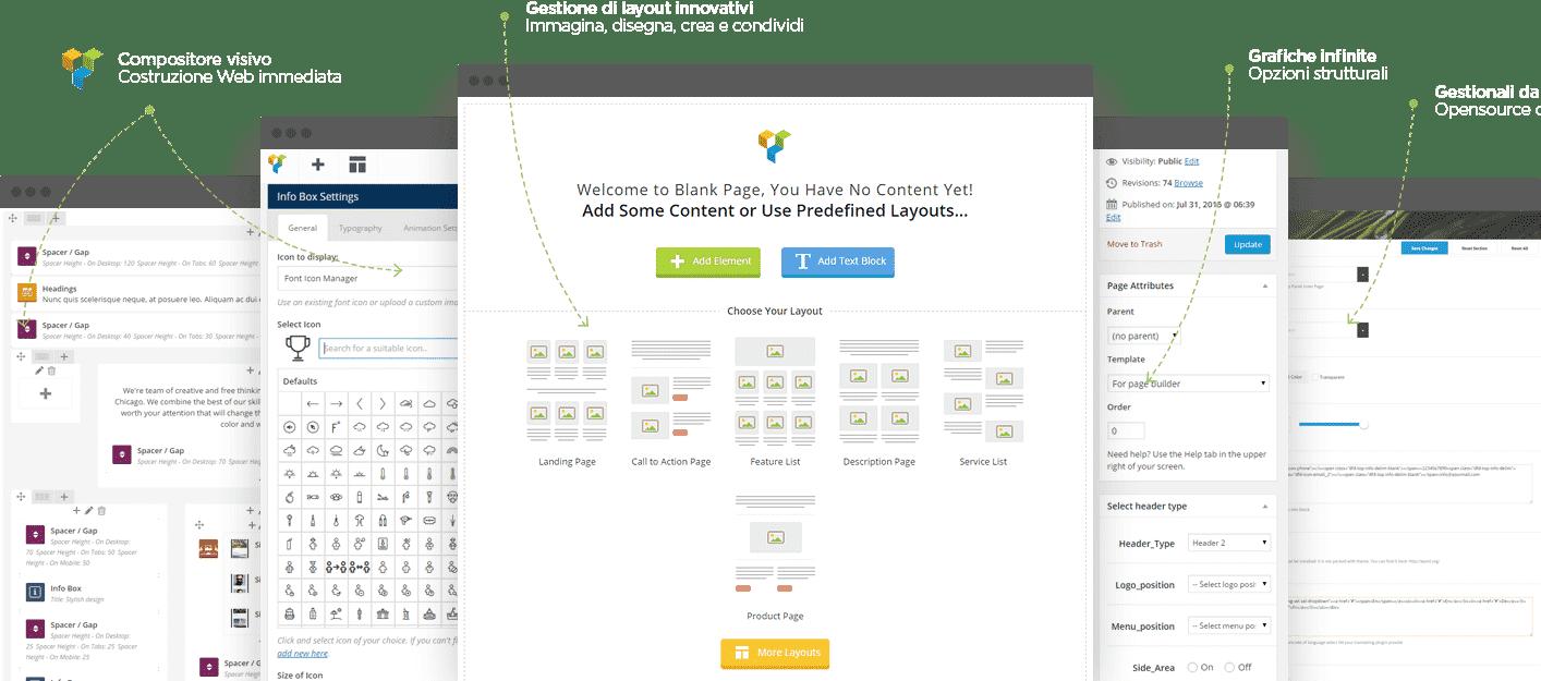 creazione sito aziendale con gestionale