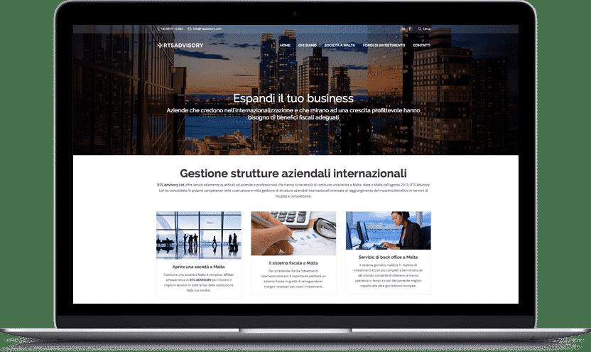 creazione sito aziendale milano
