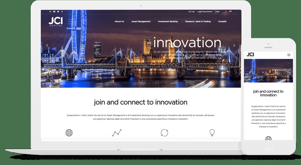 realizzazione sito corporate aziendale