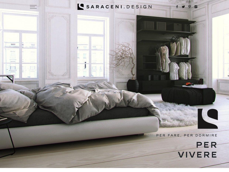 Creazione sito web showroom negozio arredamento saraceni - Siti design arredamento ...