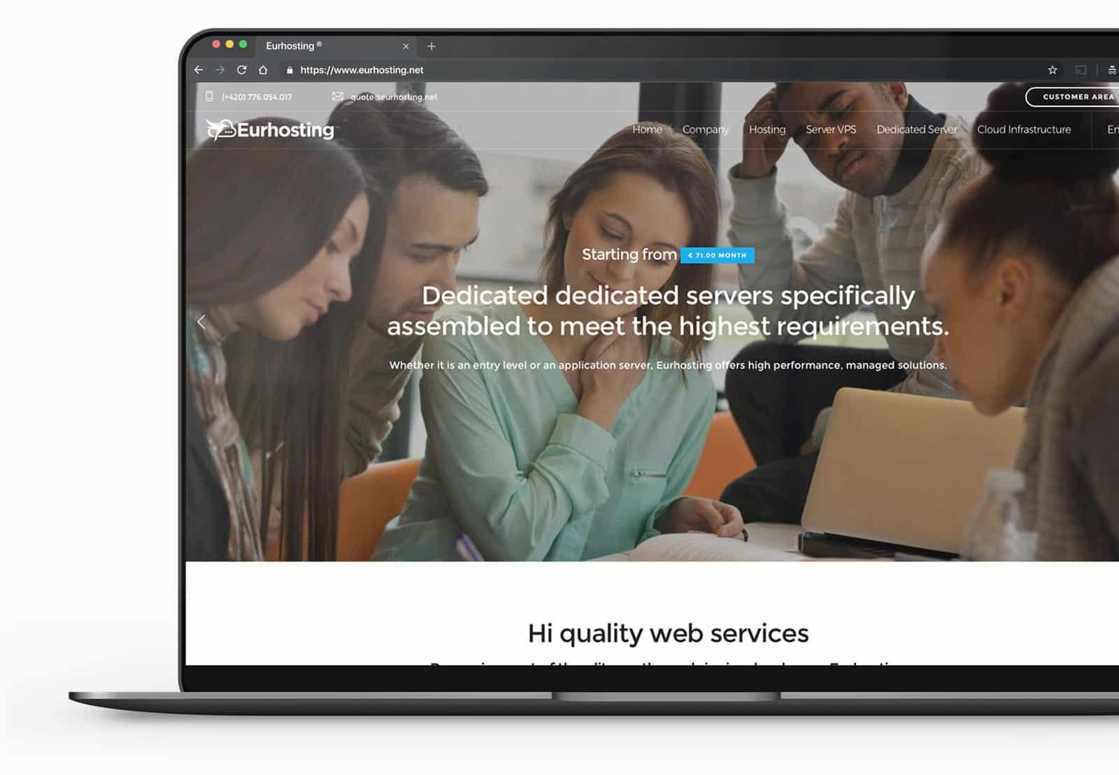 web agency per sito aziendale