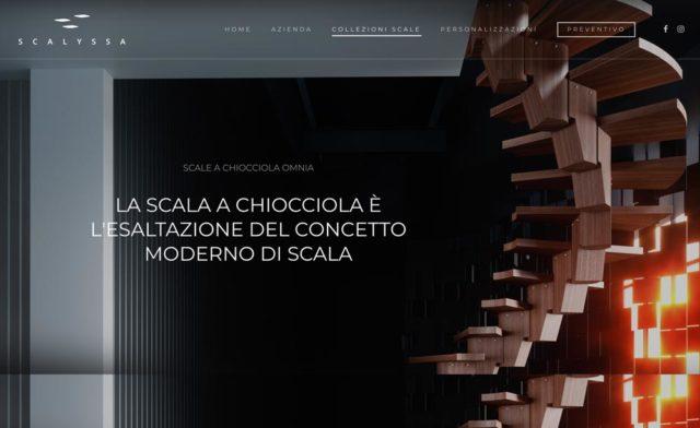 creazione sito scalyssa azienda scale