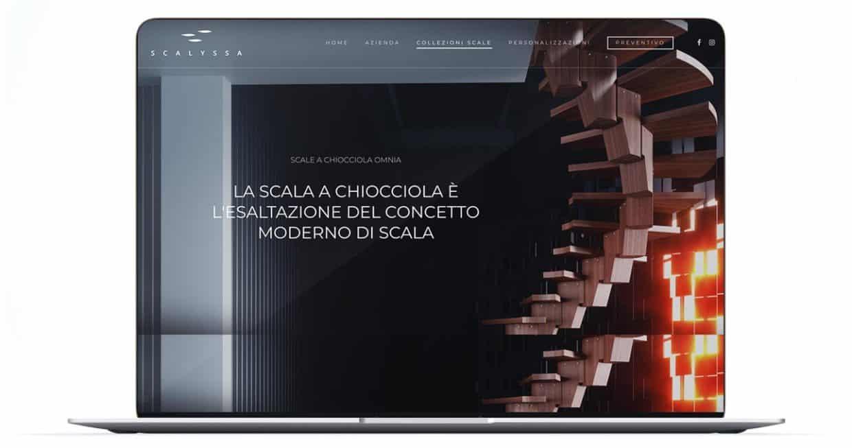 realizzazione sito azienda scale