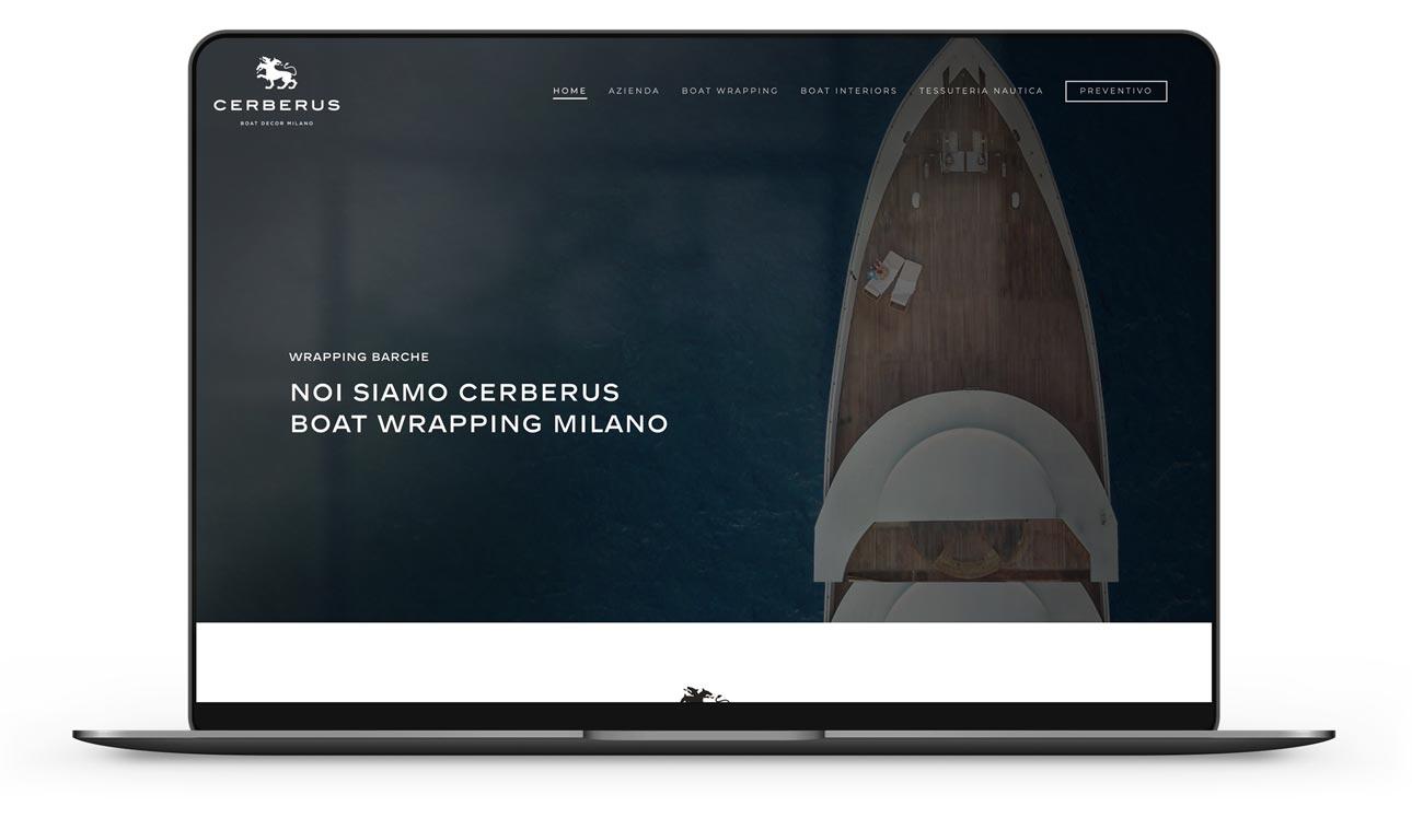 realizzazione sito web nautica yacht