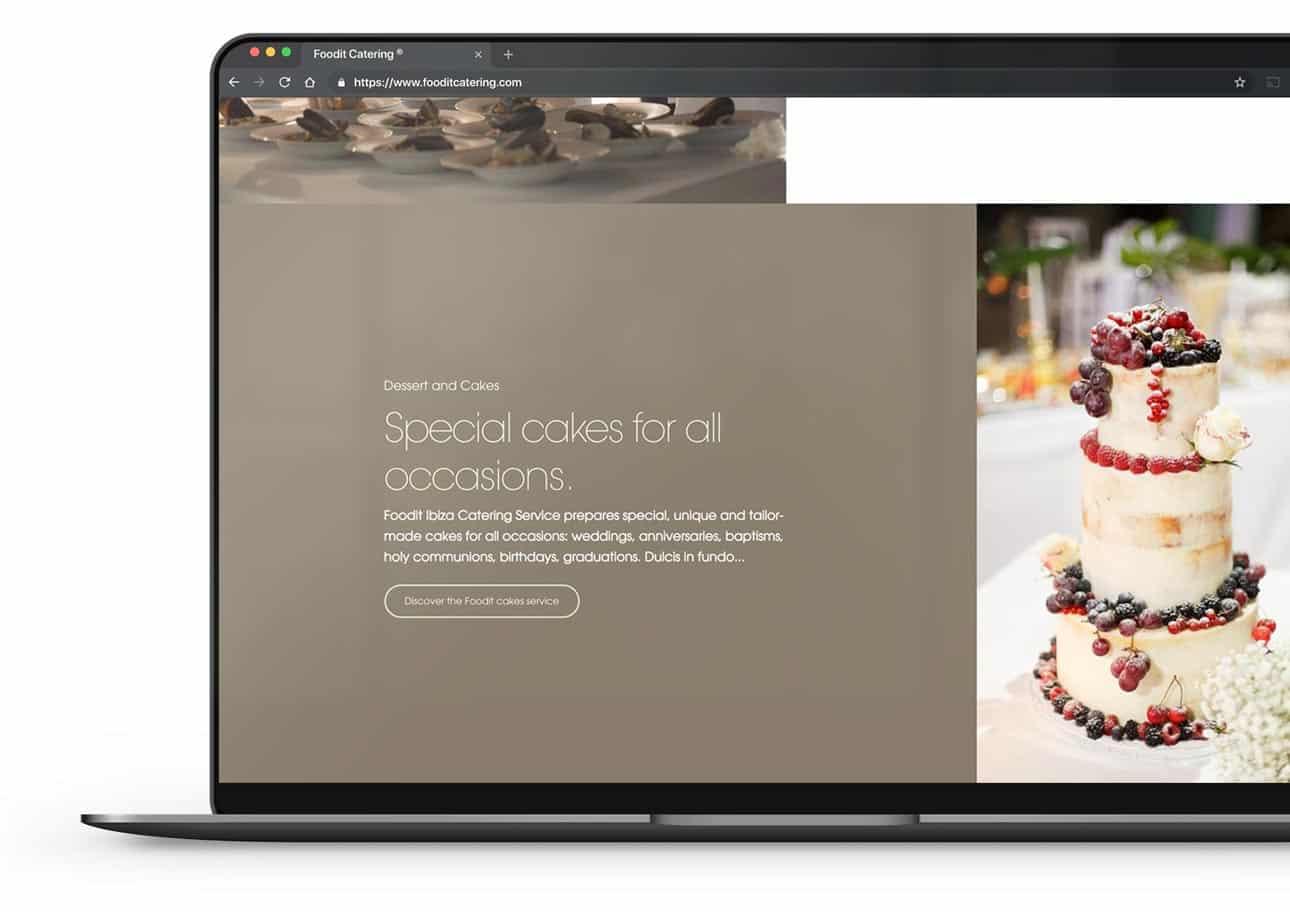 esempio sito internet catering aziendale