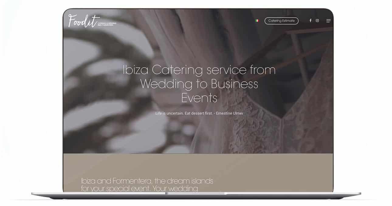 sito web azienda catering