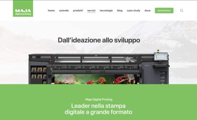creazione sito per tipografia