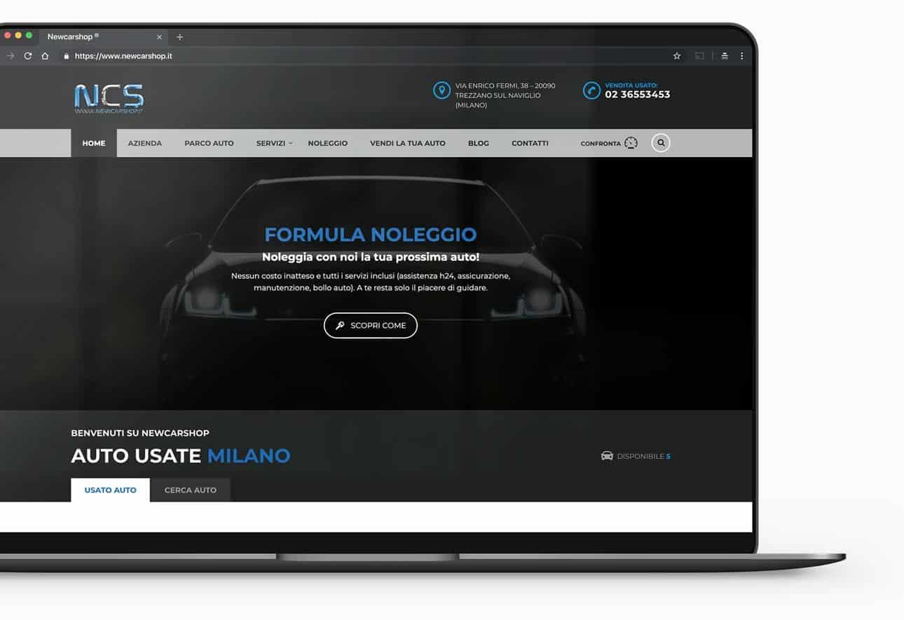 sito web concessionario