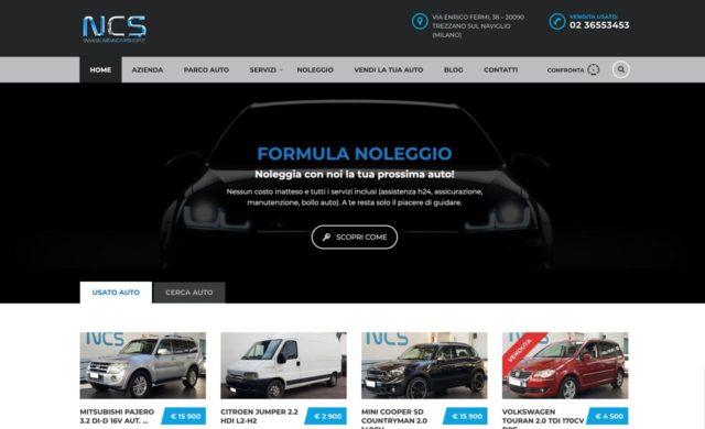 sito web per concessionario auto