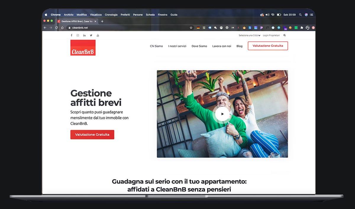 realizzazione sito agenzia immobiliare e affitti brevi