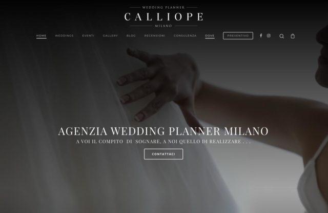 realizzazione siti web per agenzie wedding planner milano