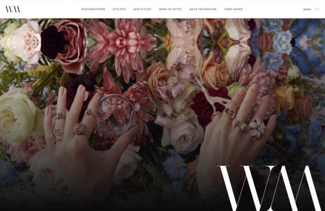 realizzazione sito web per fotografi e moda