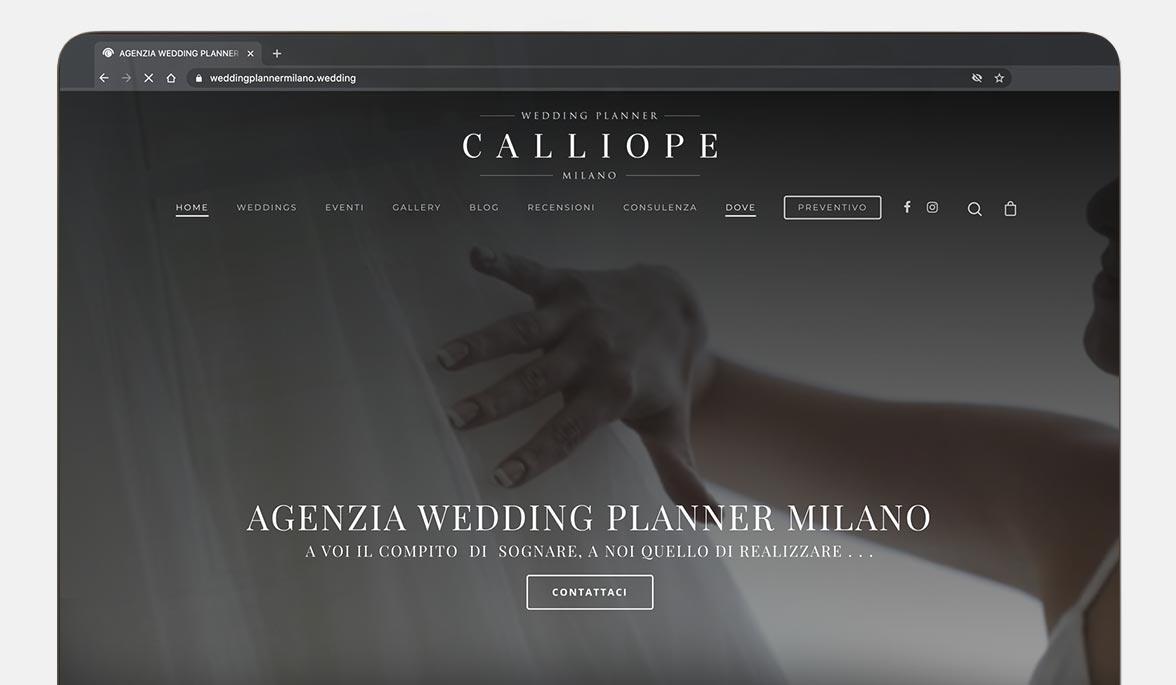 creazione sito agenzia wedding planner